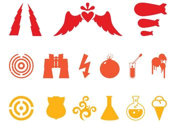 Icons Set Vector - Free vector #160575