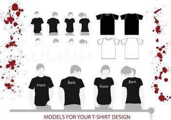 T-Shirt Illustrations - Free vector #160815