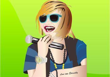Charice Portrait - vector #160985 gratis