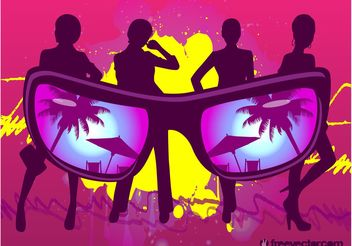 Socialite Girls - vector #161235 gratis