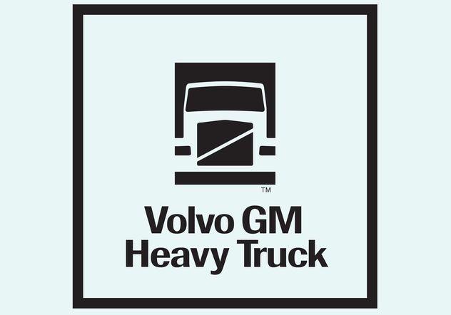 Volvo Truck - vector gratuit #161285
