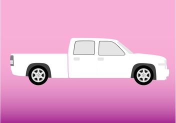 White Truck - Free vector #161305