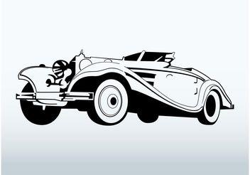 Classic Car Vector - Kostenloses vector #161345