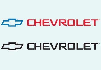 Chevrolet - vector gratuit #161495