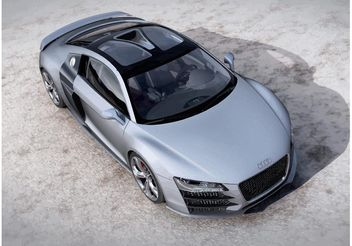 Audi R8 V12 Concept - Kostenloses vector #161635