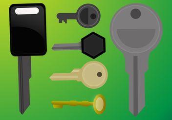 Key Vectors - vector gratuit #161795