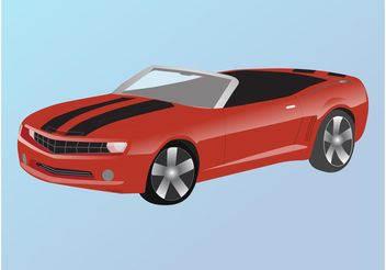 Chevrolet Camaro - vector gratuit(e) #161815