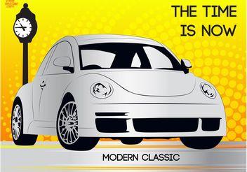 Modern Beetle - бесплатный vector #161825