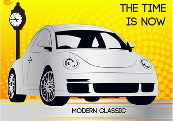 Modern Beetle - Free vector #161825