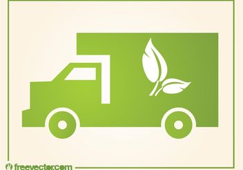 Eco Truck - Free vector #161835