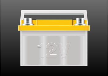 Vector Battery - vector gratuit(e) #161845
