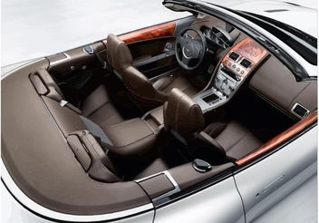 Aston Martin DB9 Interior - Free vector #161965