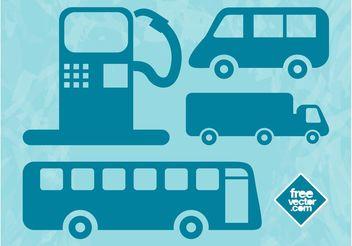 Driving Symbols - бесплатный vector #162025