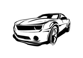 Carro Camaro Vector Limpio - Free vector #162095