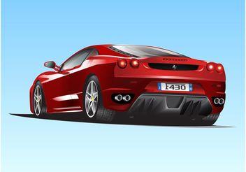 Ferrari F430 - Free vector #162135