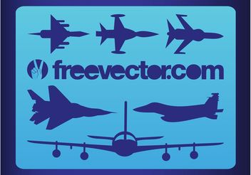 Military Planes - Free vector #162365