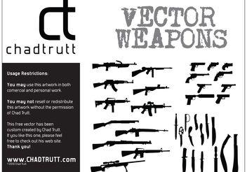 Weapons - Kostenloses vector #162425