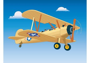 Airplane Freedom Flight - Free vector #162435
