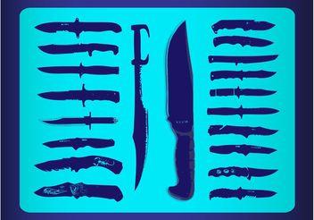 Free Knives Vectors - Free vector #162445