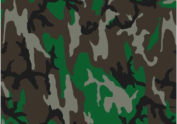 Camouflage Pattern - Free vector #162475
