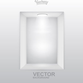 Spot Light Empty Interior - vector gratuit #162745