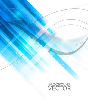 Blue Angling Linen Shade with Thin Spiral Curves - vector gratuit(e) #165245