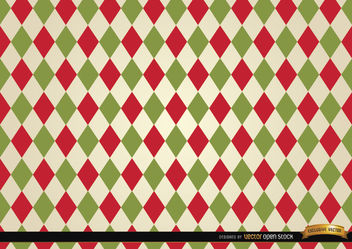 Rhombus colored pattern background - vector gratuit(e) #165995