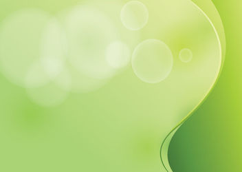 Green Wave Cutting Edge Simplistic Background - Free vector #166195