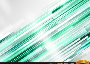 Bright green bars background - Free vector #167295