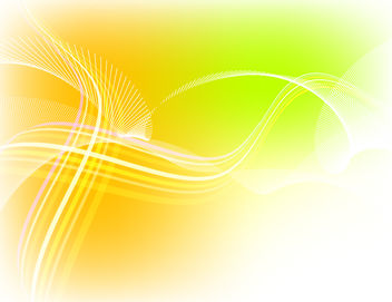 Wavy Spiral Line Yellow Background - vector gratuit #167735