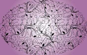 Narrow Floral Seamless Pattern - Kostenloses vector #168105