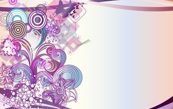 Vector Abstract Design Element - Free vector #168295