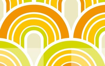 Colorful Wallpaper Pattern - vector gratuit #168385