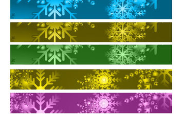 Banner Christmas Background - Free vector #168595