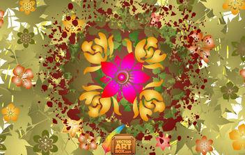 Vector Floral Design - Free vector #168765