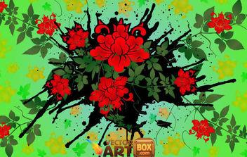 Vector Floral Design 2 - Free vector #168785
