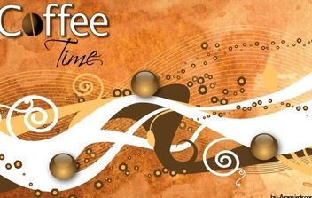 Coffee Mood - vector gratuit #169185