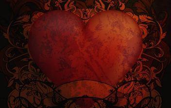 Vintage Heart Backgrounds 2 - vector gratuit #169305