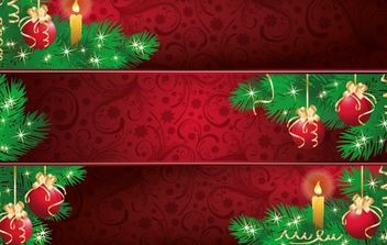 New Year banner 3 - Free vector #169515