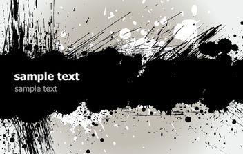 Grunge Banner - vector #169585 gratis