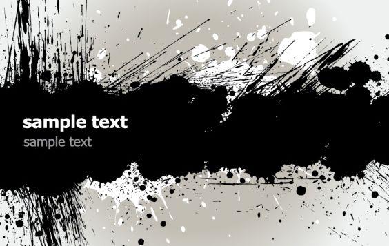 Grunge Banner - Free vector #169585