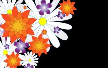 Flowers - Free vector #169665
