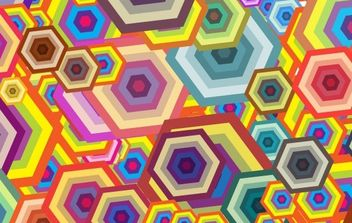 Free vector wallpaper - Polygon - vector gratuit #169695