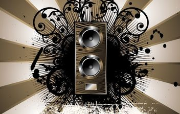 Music grunge backgrounds - vector #169865 gratis