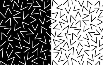 Pattern of Random Vs - Free vector #169945