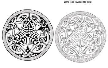 Celtic ornament - бесплатный vector #170025
