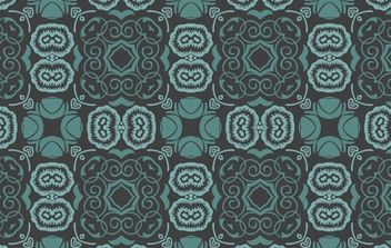 Bluish Floral Wallpaper - vector #170075 gratis