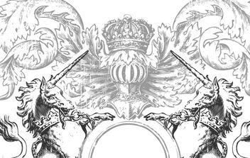 Heraldry Vector Art - Free vector #170135