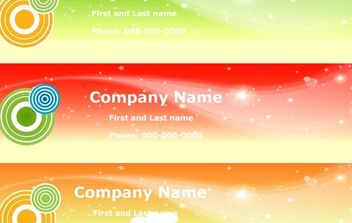 Sky Banners - Free vector #170155
