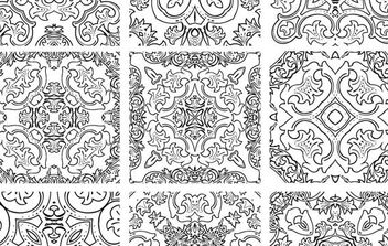 Ornaments - vector gratuit #170165